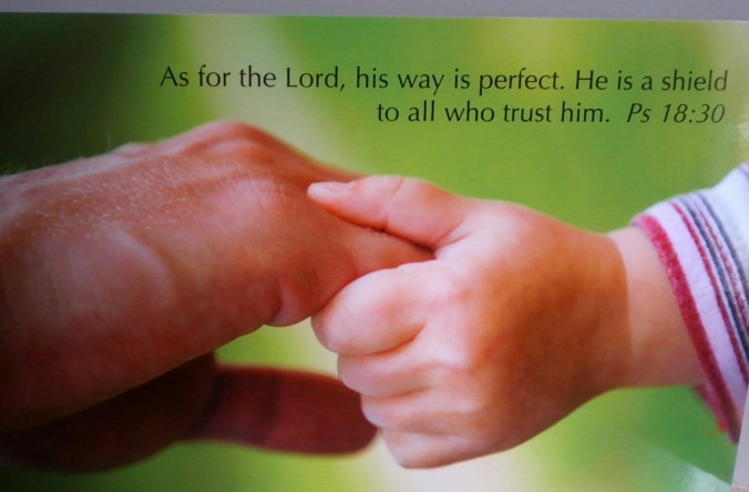 father and child ~ trust him image