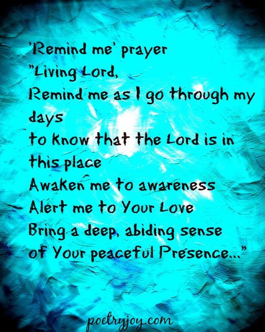 remind me prayer PJ file pin