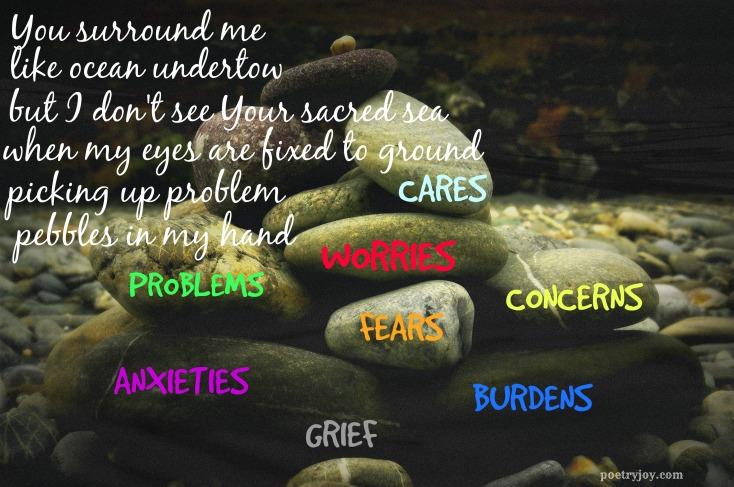 pebbles release poem pin