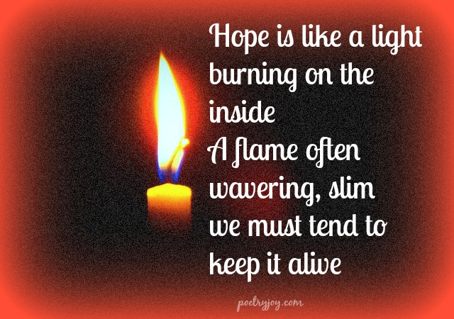 hope sings light - PJ
