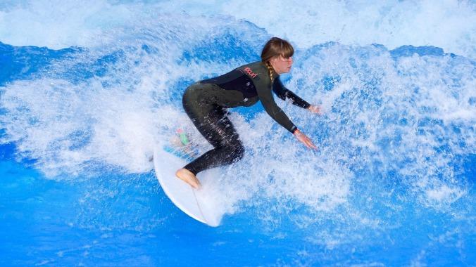 riding the waves PJ