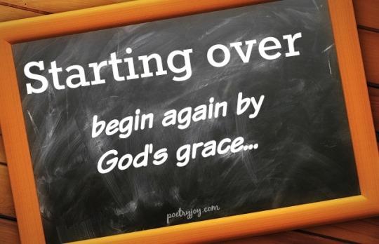 starting over - PJ