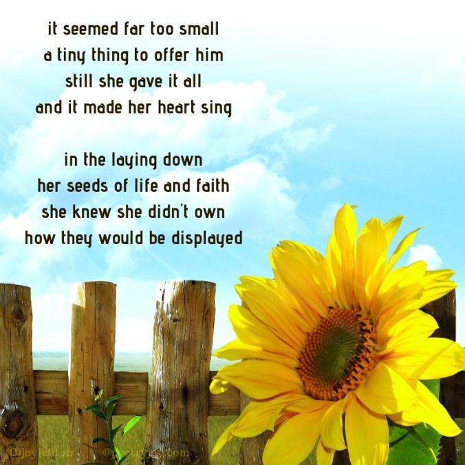 seeds - poem excerpt (C)joylenton @poetryjoy.com