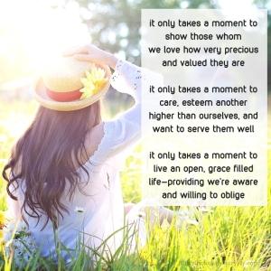 moment - it only takes a moment poem excerpt (C)joylenton @poetryjoy.com