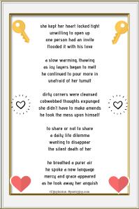 share - to share or not to share poem (C)joylenton @poetryjoy.com