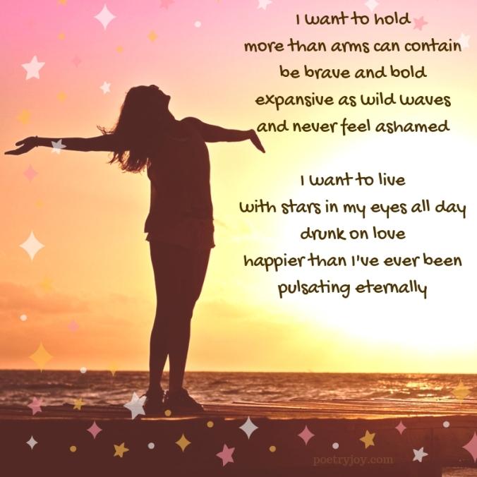 alive - being alive poem excerpt (C)joylenton @poetryjoy.com