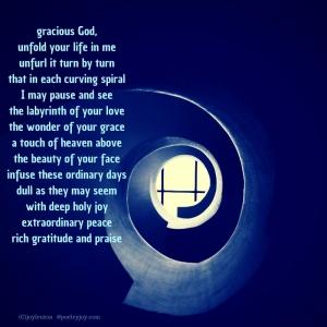 labyrinth poem (C)joylenton @poetryjoy.com