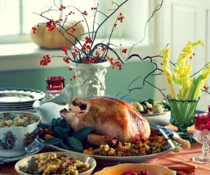 table - a place has been reserved for you - thanksgiving dinner @poetryjoy.com