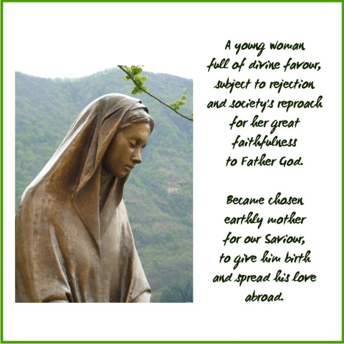 mantle - mary's mantle poem excerpt (C)joylenton @poetryjoy.com