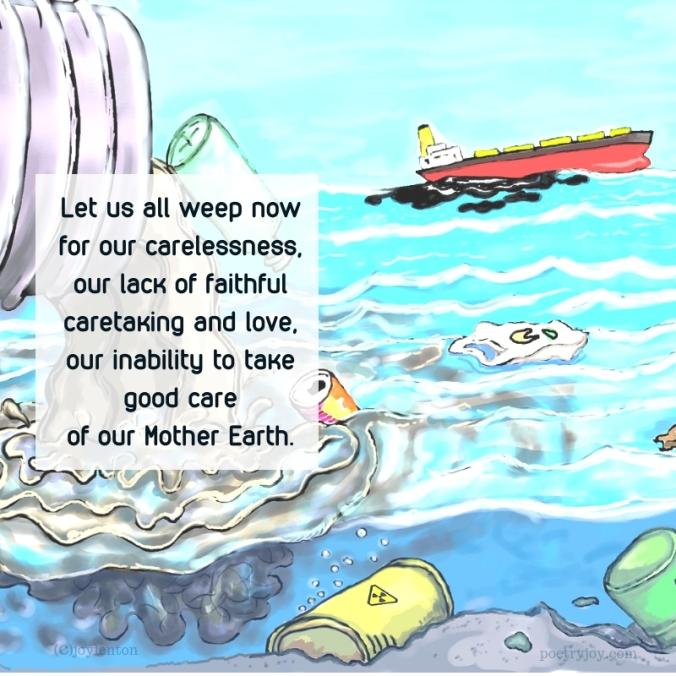 simplify - weep now lament poem excerpt (C)joylenton @poetryjoy.com