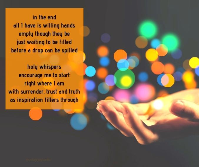 begin - writer's woes poem excerpt - new year (c)joylenton @poetryjoy.com