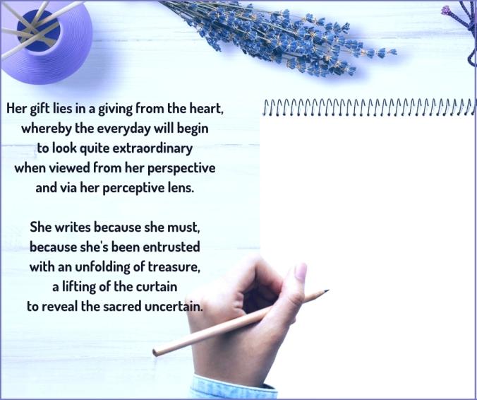 influence - writer - poem excerpt (c)joylenton @poetryjoy.com
