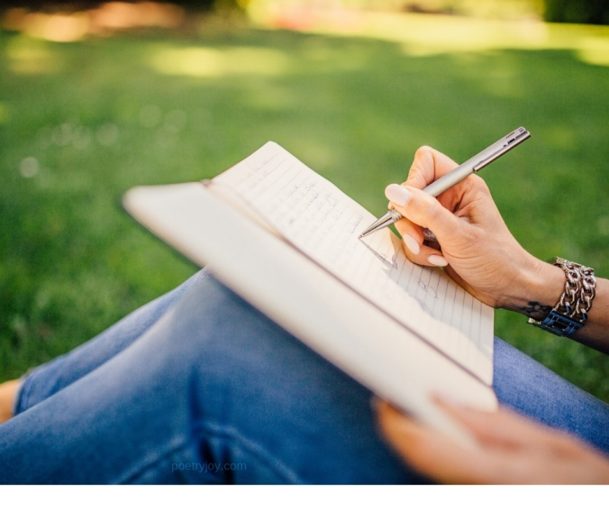 confident - gaining the courage to write by faith @poetryjoy.com