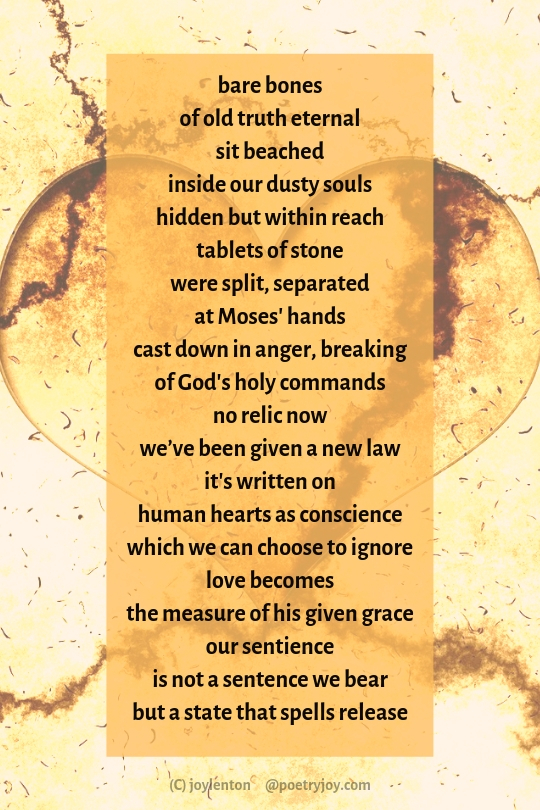 Reliquaries poem excerpt (C) joylenton @poetryjoy.com - heart image