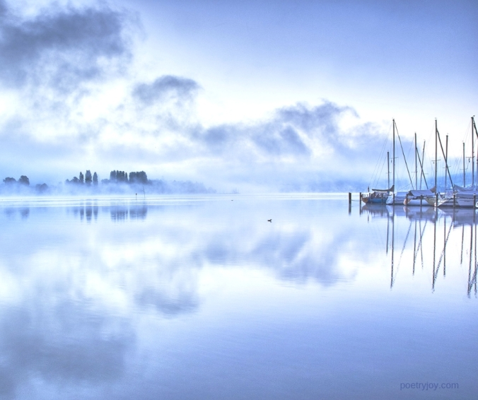 reward - ships in calm waters - setting our course with courage and faith @poetryjoy.com