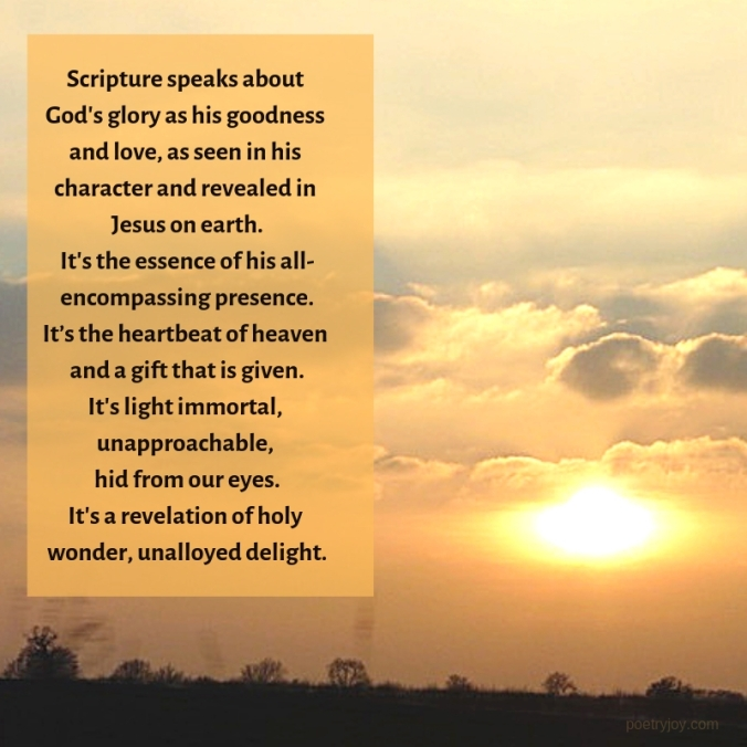 share - sunset - talking glory poem excerpt (C)joylenton @poetryjoy.com