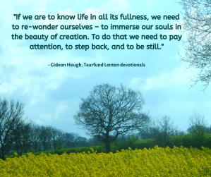 waves - clouds - rural landscape - sky - trees - If we are to know life in all its fullness quote @poetryjoy.com
