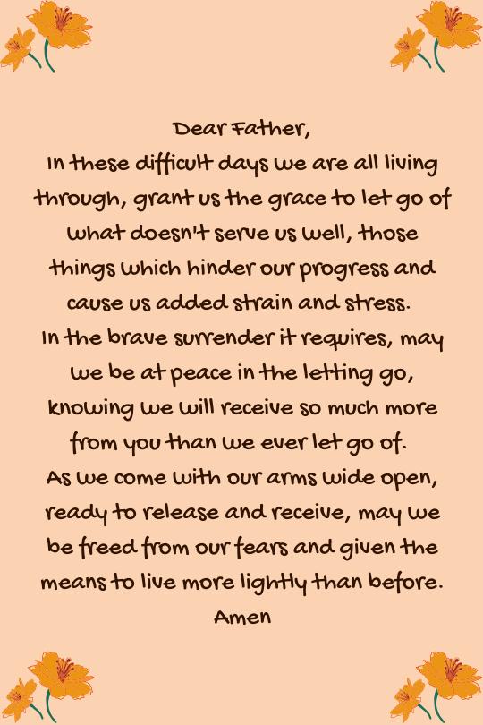 release - letting go prayer (C) joylenton @poetryjoy.com