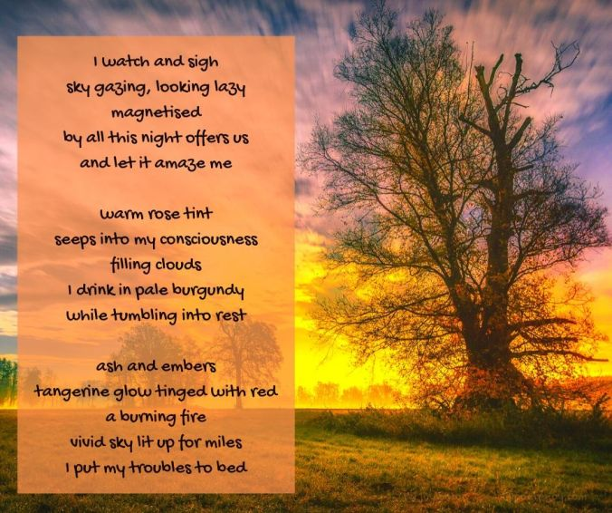 enchantment - evening poem excerpt (C) joylenton @poetryjoy.com