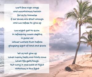 pilgrimage - desert island - beach - poem excerpt (C) joylenton @poetryjoy.com