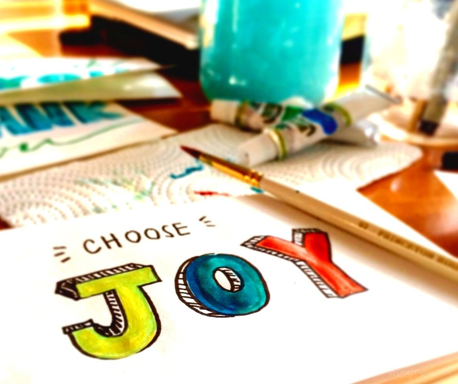 stilling - choose joy - learning to love your ordinary life @poetryjoy.com